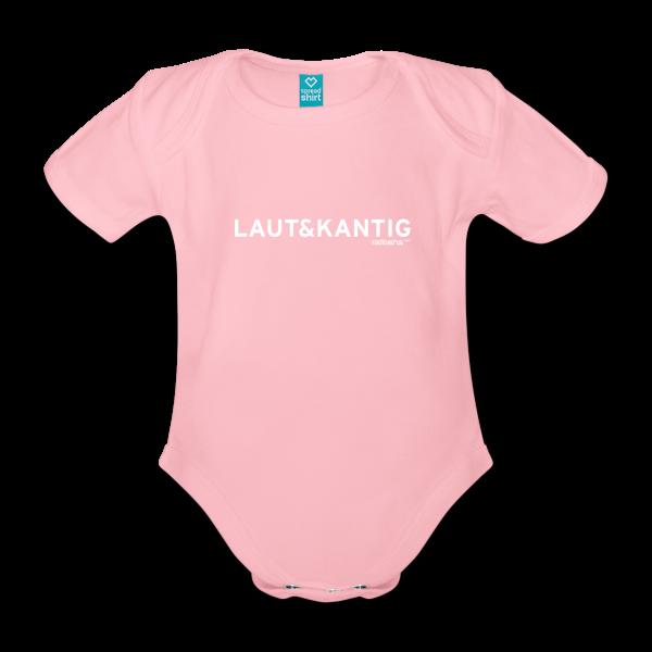 radioeins Laut&Kantig Babybody von Spreadshirt