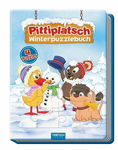 Pittiplatsch Winterpuzzlebuch