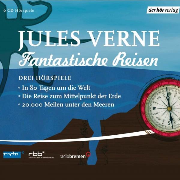 Jules Verne - Fantastische Reisen CD