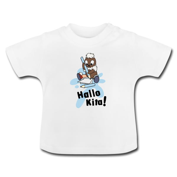Pittiplatsch Hallo Kita! Kinder T-Shirt von Spreadshirt