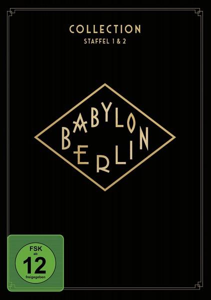 Babylon Berlin 1. und 2. Staffel im Bundle (DVD)