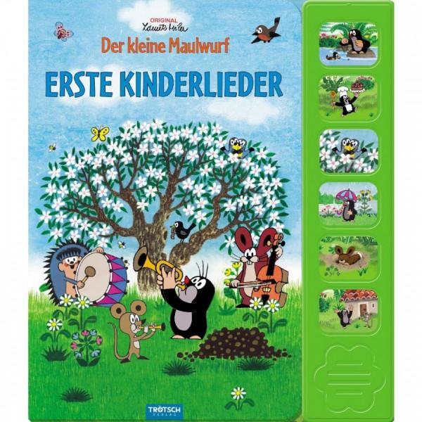 Der kleine Maulwurf - Erste Kinderlieder (Buch mit Sound)