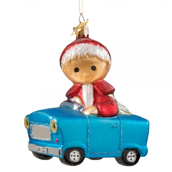 Unser Sandmännchen Weihnachtsschmuck Auto