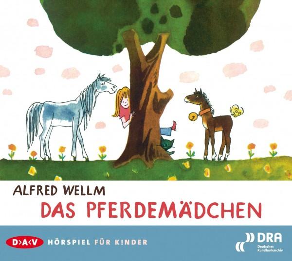 Das Pferdemädchen von Alfred Wellm (CD)