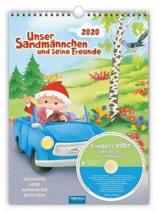Unser Sandmännchen Kalender 2020 mit CD