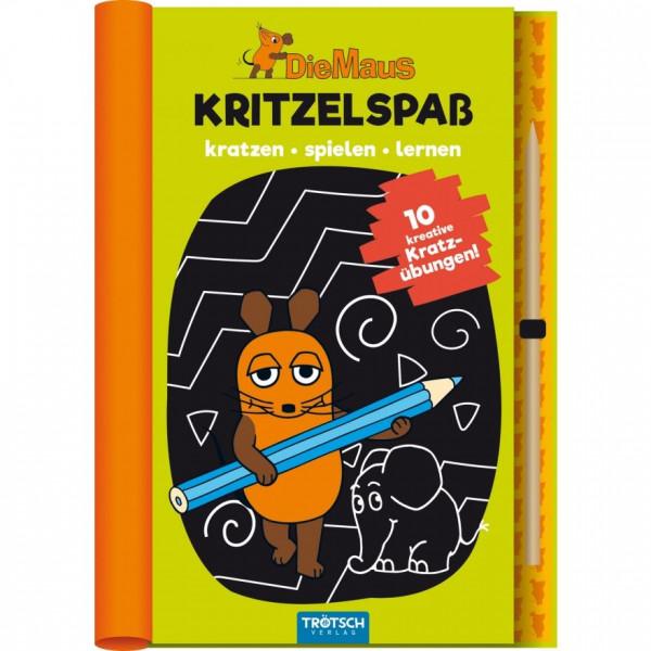 Die Maus - Kritzelspass (Buch)