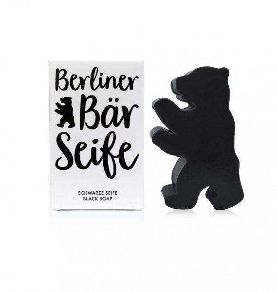 Berliner Bär Seife schwarz