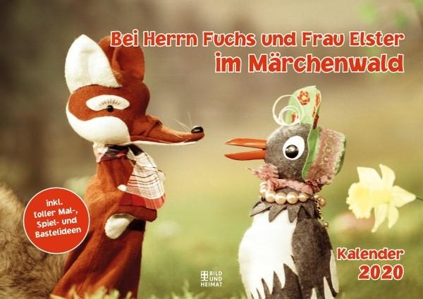 Herr Fuchs & Frau Elster im Märchenwald - Kalender 2020