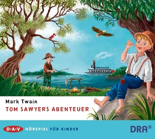 Tom Sawyers Abenteuer - Mark Twain (CD)