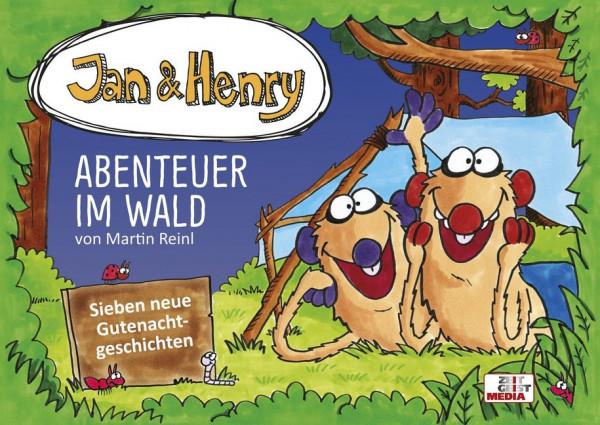 Jan und Henry - Abenteuer im Wald (Buch)
