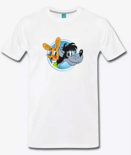 Hase und Wolf - Nu, Pogodi! T-Shirt Freunde