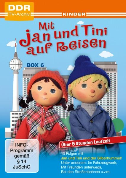 Mit Jan und Tini auf Reisen Box 6 (2 DVDs)