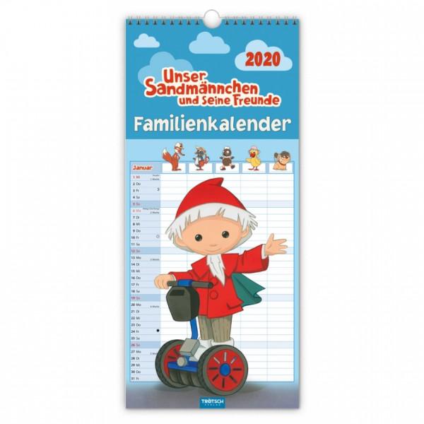 Unser Sandmännchen Familienkalender 2020