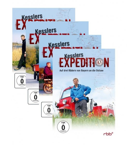 Kesslers Expeditionen im Paket (Staffeln 1-10)