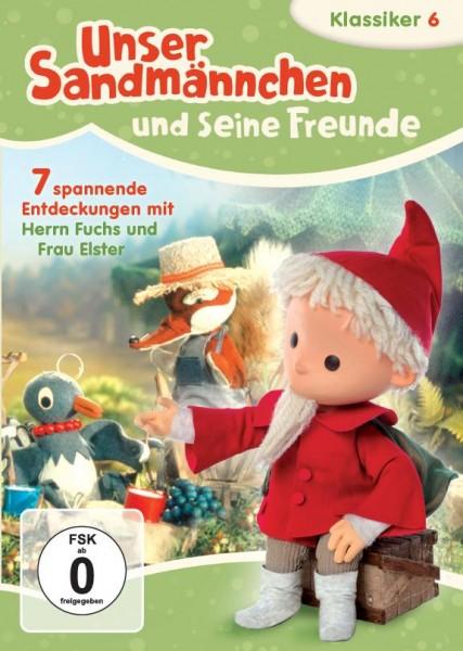 Sandmann DVD - Unser Sandmännchen Klassiker Teil 6 - Sieben spannende Entdeckungen mit Herrn Fuchs und Frau Elster Cover