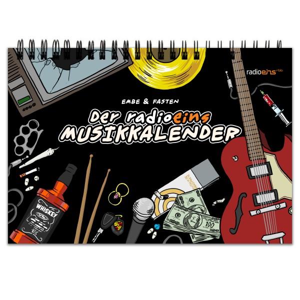 radioeins Musikkalender - Immerwährender Kalender - Dauerkalender