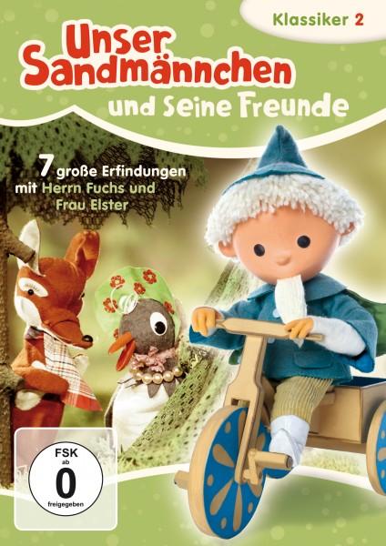 Sandmann DVD - Unser Sandmännchen Klassiker Teil 2 - Sieben große Erfindungen mit Herrn Fuchs und Frau Elster