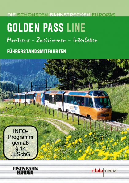 Die Golden Pass Linie DVD