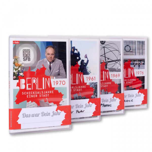 """Die besondere Geschenkidee–Ihr persönliches Jahr der """"Berlin – Schicksalsjahre einer Stadt"""" auf DVD"""