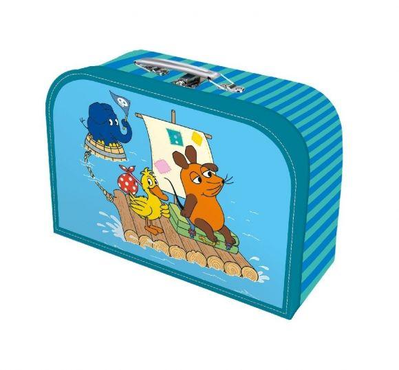 Die Maus - Kinderkoffer Groß Blau (29 x 20 cm)