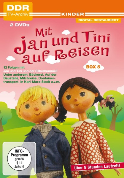 Mit Jan und Tini auf Reisen Box 5 (2 DVDs)
