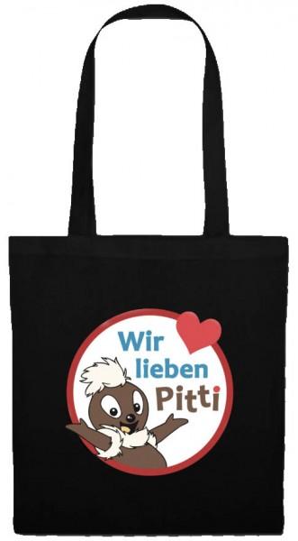 Pittiplatsch Baumwolltasche - Wir lieben Pitti