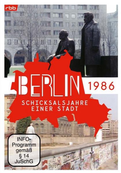 Berlin - Schicksalsjahre einer Stadt - 1986 (DVD)