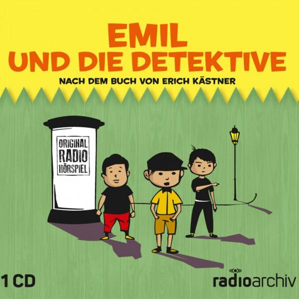 CD Emil und die Detektive Cover