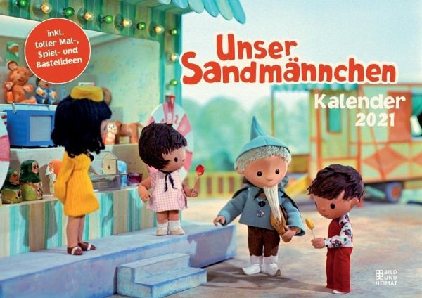 Unser Sandmännchen Kalender 2021