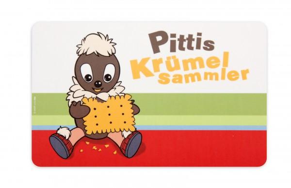 """Pittiplatsch Frühstücksbrett """"Pittis Krümelsammler"""""""