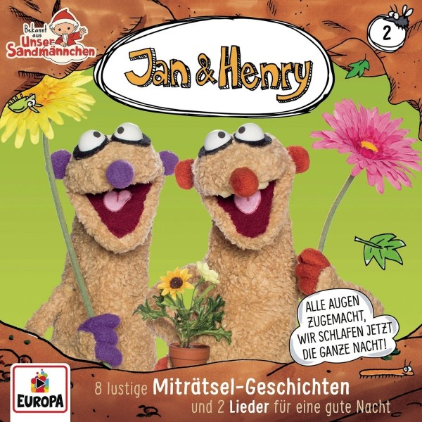 Jan & Henry CD Vol. 2