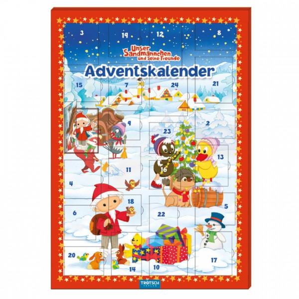 Unser Sandmännchen Magnet-Adventskalender