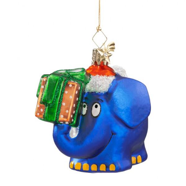 Der Elefant als Weihnachtsmann - Weihnachtsschmuck Käthe Wohlfahrt