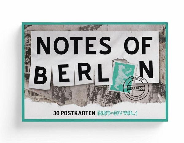 Notes of Berlin - 30er Postkarten-Box