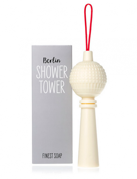 Berlin Showertower - Seife mit Kordel