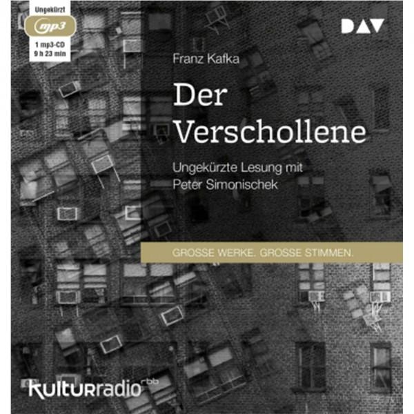 Franz Kafka - Der Verschollene CD