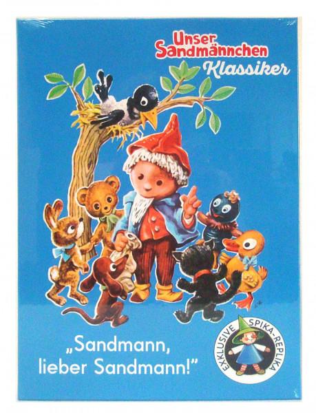 Sandmann, lieber Sandmann Brettspiel von SPIKA Vorderansicht