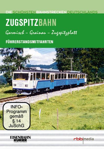 Die Zugspitzbahn DVD