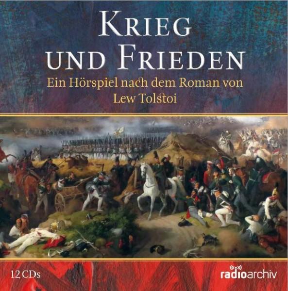 Krieg und Frieden - Hörspiel Lew Tolstoi -  DDR-Archiv - (12 CD)