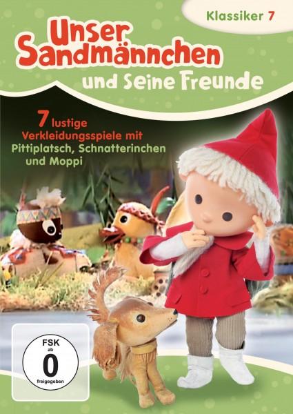 Sandmann DVD - Unser Sandmännchen Klassiker Teil 7 – Sieben lustige Verkleidungsspiele mit Pittiplatsch, Schnatterinchen und Moppi
