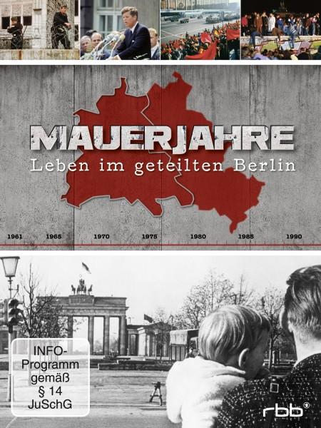 Mauerjahre - Leben im geteilten Berlin (3 DVDs)