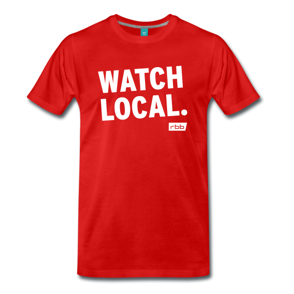 rbb T-Shirt Watch local - Spreadshirt