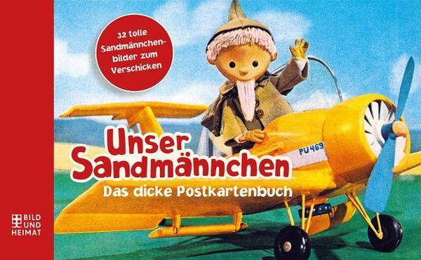 Unser Sandmännchen - Das dicke Postkartenbuch