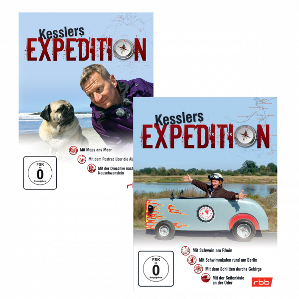 Kesslers Expeditionen im Paket 7 DVDs (Staffeln 11 -17)