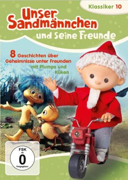 Sandmann DVD - Unser Sandmännchen Klassiker Teil 10 – Plumps und Kueken-Cover