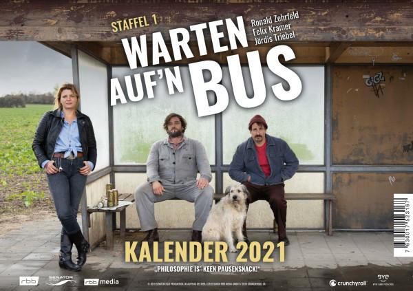 Warten auf´n Bus - Tischkalender 2020