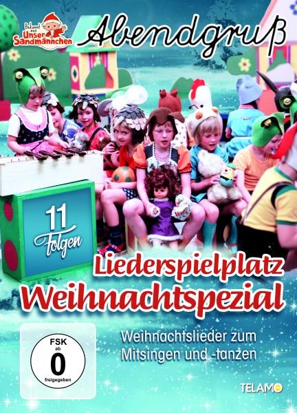 Unser Sandmännchen Abendgruß - Liederspielplatz Weihnachtspecial (DVD)