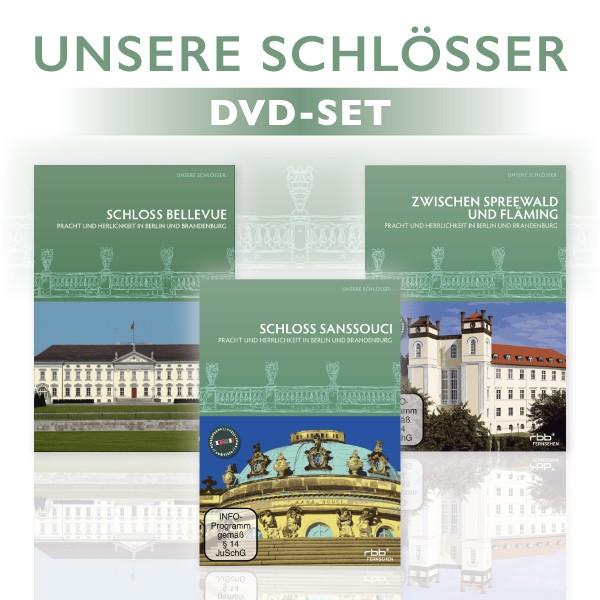 Unsere Schlösser - 3er DVD-Set