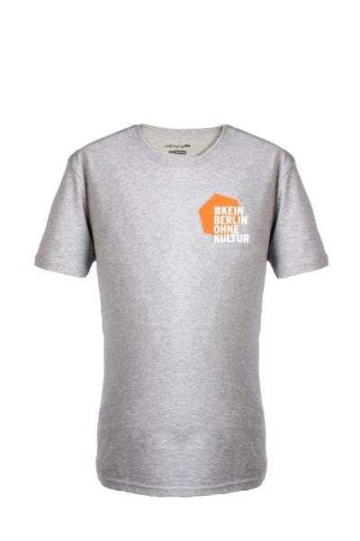 #KeinBerlinohneKultur T-Shirt Grau-Orange