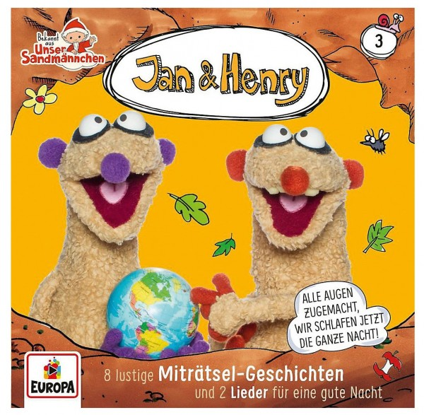 Jan & Henry CD Vol. 3